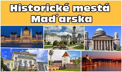 Historické mestá Maďarska