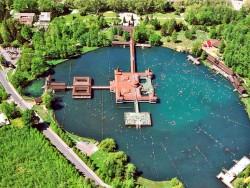 Termálne jazero Hévíz Hévíz